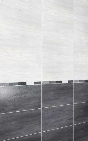 Faience Murale Slitta Gris 25 5 X 40 5 Cm Brico Depot