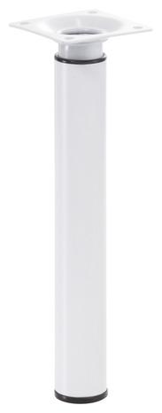 Pied Reglable En Acier Blanc O 3 Cm H 21 A 35 Cm Brico Depot