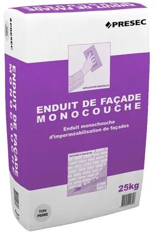 Enduit De Facade Monocouche Blanc 25 Kg Brico Depot