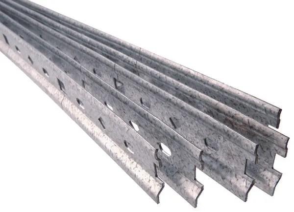 rail de fixation acier brico depot