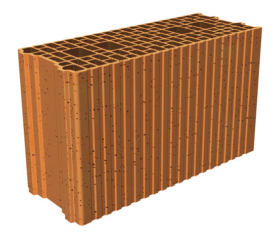 Brique Porotherm L 50 X L 20 X Ep 30 Cm Brico Depot