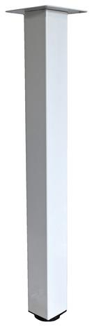 pied pour table haute blanc brico depot