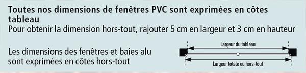 Fenetre En Pvc Blanc 2 Vantaux L 90 X H 75 Cm Brico Depot