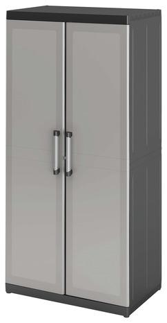 armoire haute xl resine h 182 x l 89 x p 54 cm form