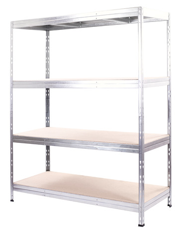 etagere garage bois metal exa 4 tablettes form
