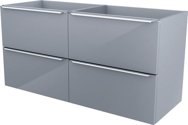 meuble sous vasque a suspendre gris imandra l 120 x h 60 x p 45 cm goodhome