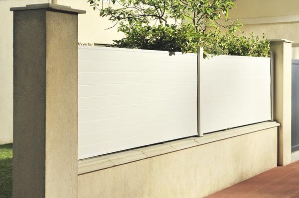 planche en pvc blanc l 3 m x h 31