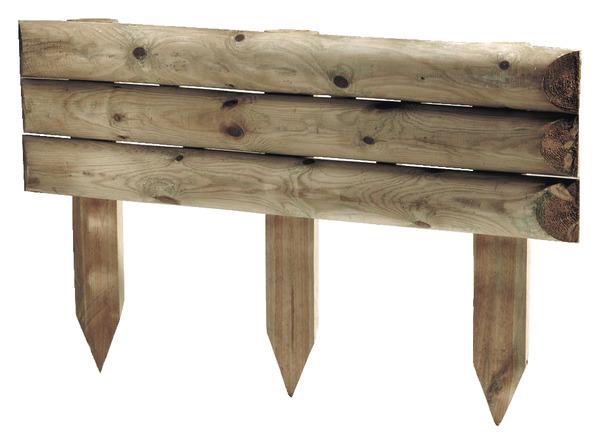 bordure bois a planter brico depot