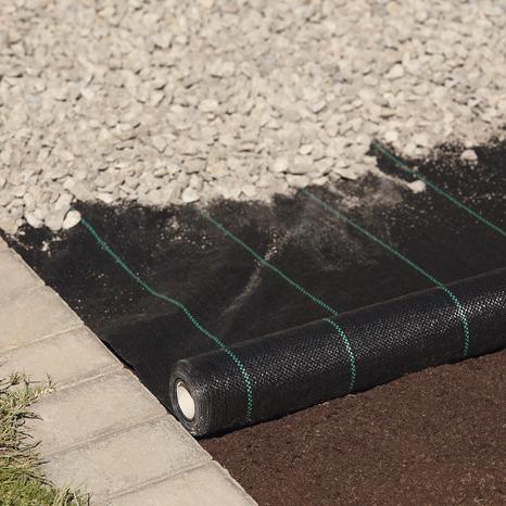 Rouleau Geotextile Noir L 30 X L 1 M Brico Depot