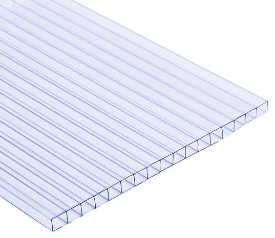 plaque polycarbonate transparente 3 x 1