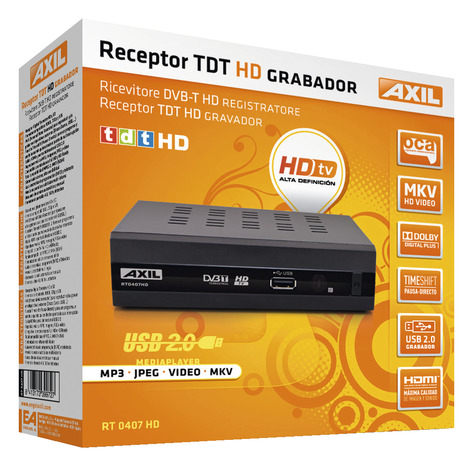 Recepteur Tv Haute Definition Pour Reception Tnt Par Antenne Rateau Brico Depot