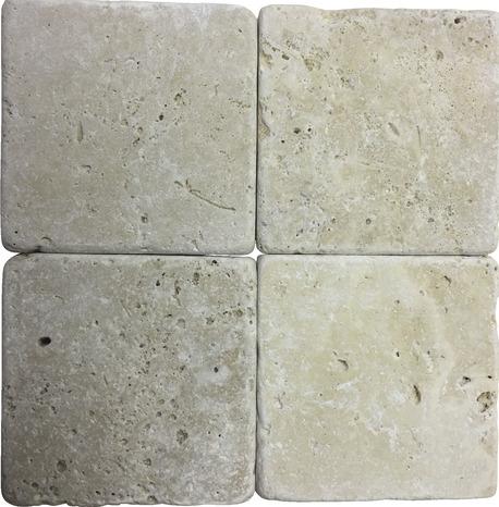 mosaique pierre naturelle travertin