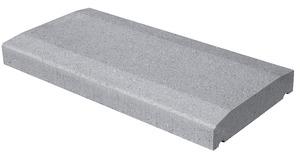 couvre mur en beton gris l 50 x l 28