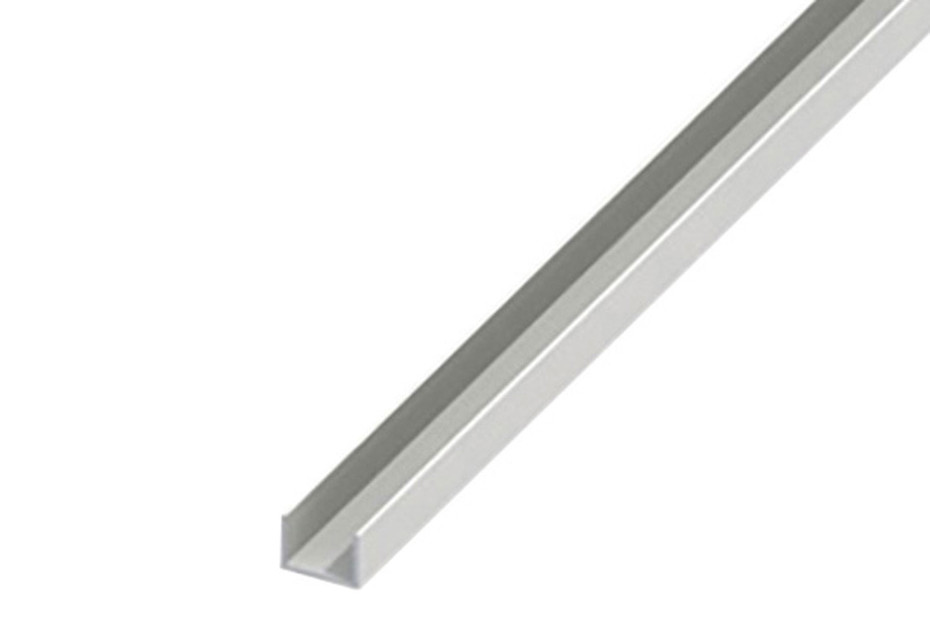 profile u en pvc 10x21x1 mm 1 m