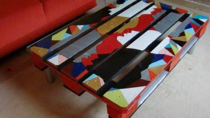table basse en palette tuto diy