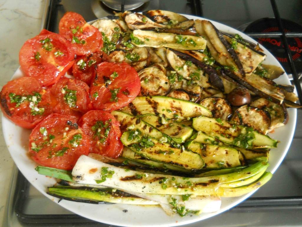 RICETTE verdure miste grigliate  bricolage  ricette