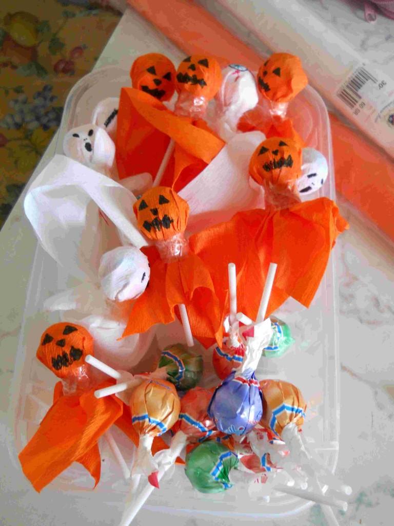 Halloween leccalecca fantasmi zucche e occhi