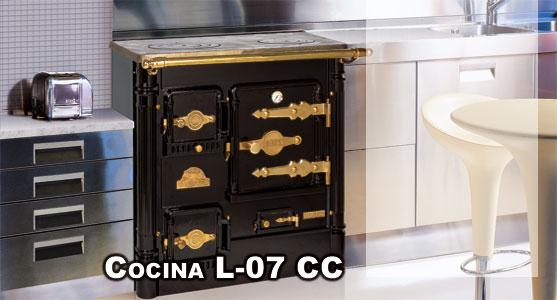 Hergom L07 CCE Cocina Bilbaina Calefactora Cerrada