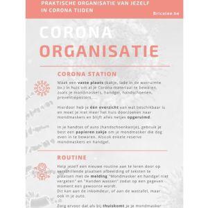 Corona organisatie checklist