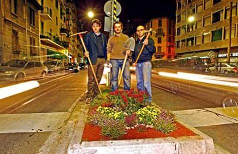 Guerrilla Gardening i terroristi buoni  Bricoliamo