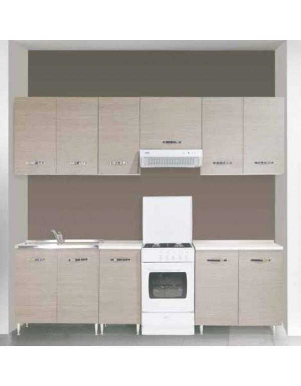Mobile Base 2 ante per cucina finitura larice grigio cm
