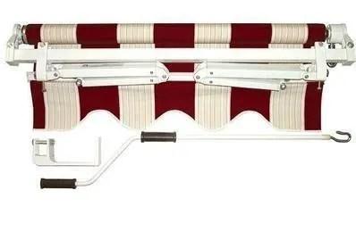 Da bricoman trovi prodotti tecnici professionali per la casa e la collettivitàcontrappeso 40x3 mm 210 cm in alluminio. Tenda Da Sole A Barra Quadra Rigato Bordeaux 395x300 Cm Lxp Bricoman