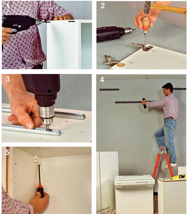 Montaggio pensili cucina  Bricoportale Fai da te e bricolage