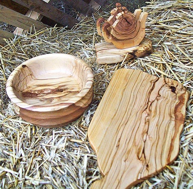 Lavorazione legno di ulivo  Come costruire accessori