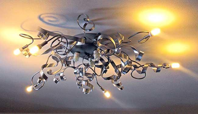 I materiali e le istruzioni passo passo per creare la tua lampada. Lampadario Fai Da Te In Ferro E Alluminio Come Costruirlo