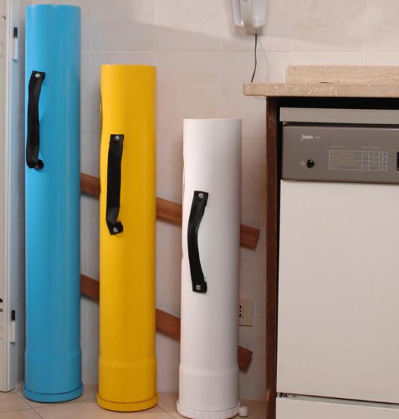 Costruire contenitori raccolta differenziata fai da te