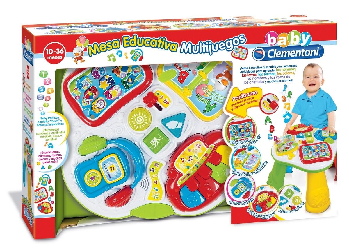 Mesa educativa multijuegos. Clementoni 55049 - Brico Reyes