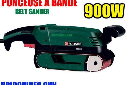 ponceuse-a-bande-lidl-parkside-pbs-900-accessoires-test-avis-prix-notice-carcteristiques-forum
