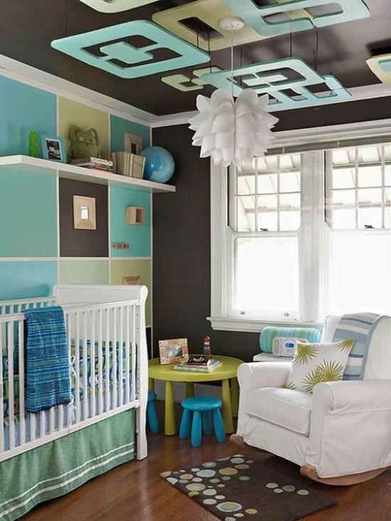 babyroom-grey-turquoise