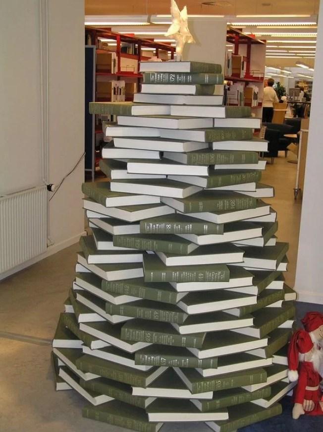arbol navidad libros