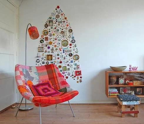 arbol navidad pared - Arboles De Navidad Originales