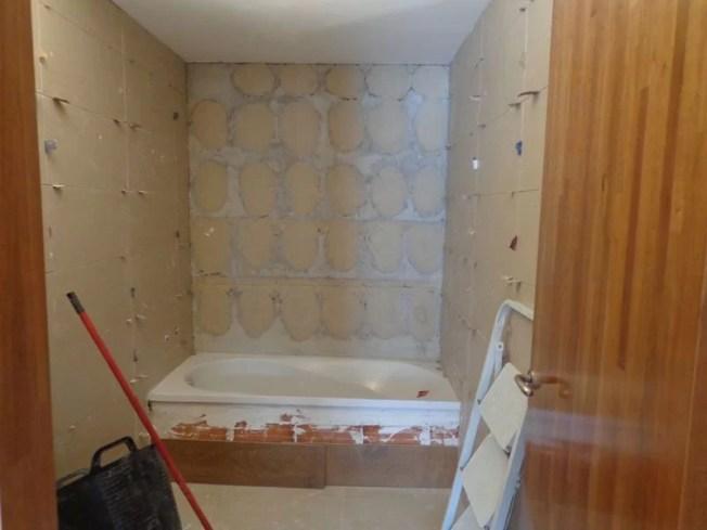 Revestimiento suelo y paredes
