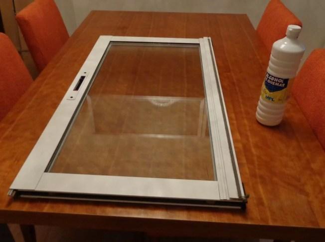 vinilo ventana limpiar cristal