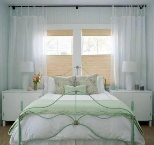 dormitorio-blanco-verde-menta