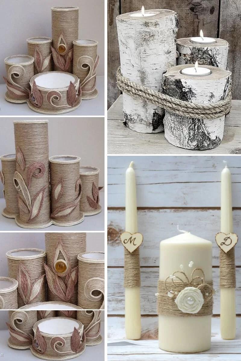 55 mejores ideas para decorar con cuerdas mayo - Decoracion con cuerdas ...