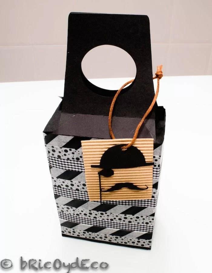 caja DIY para envolver tus regalos