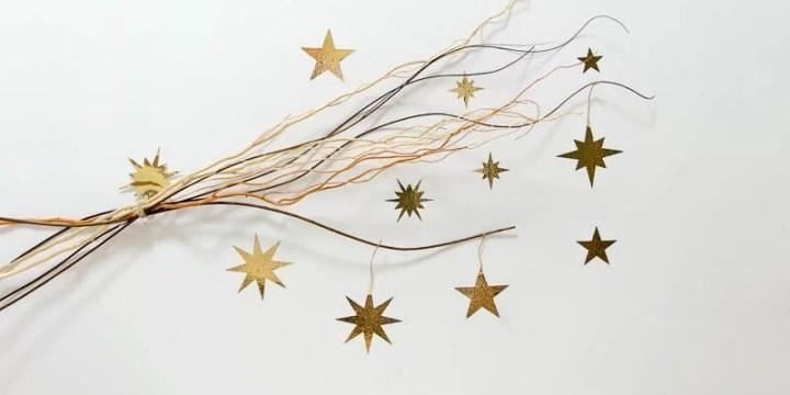 decorar con estrellas de vinilo