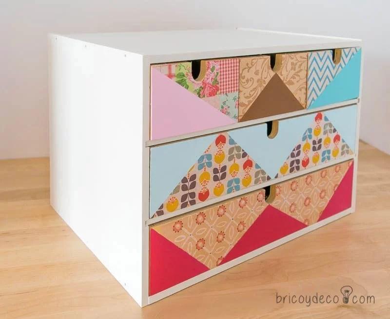 decoupage sobre madera sin tratar con servilletas - Decoupage En Muebles Tutorial
