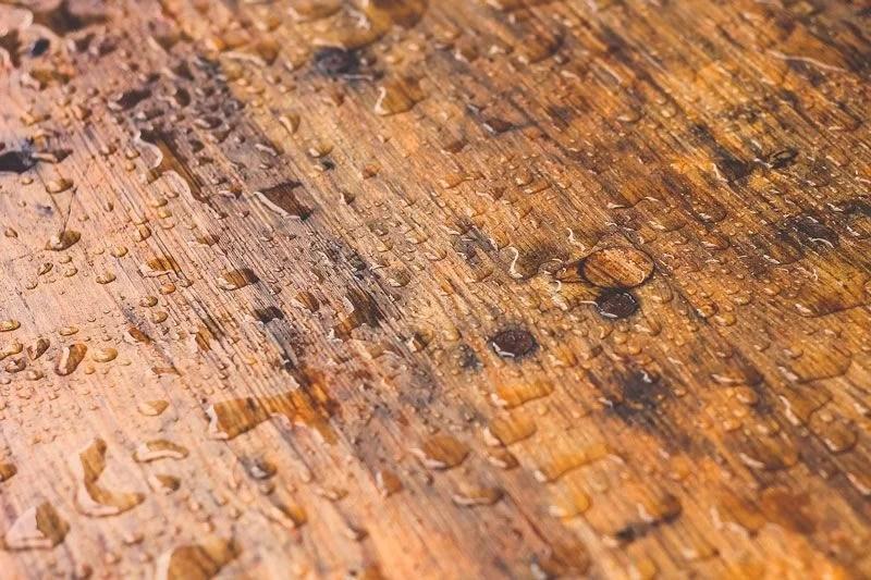 madera mojada
