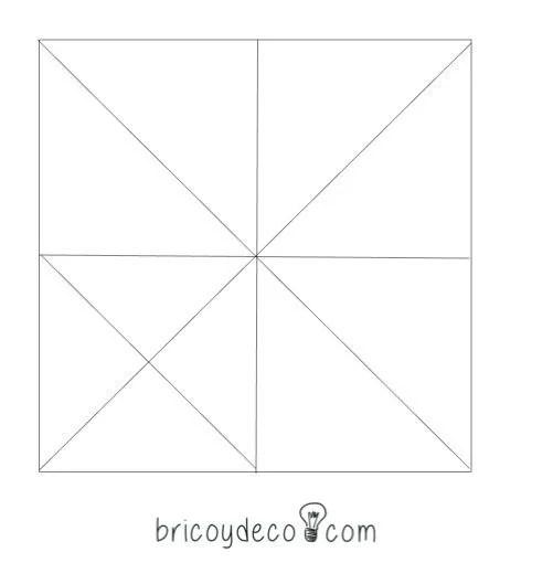 patrón de triángulos