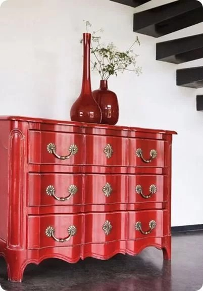 mueble clásico lacado