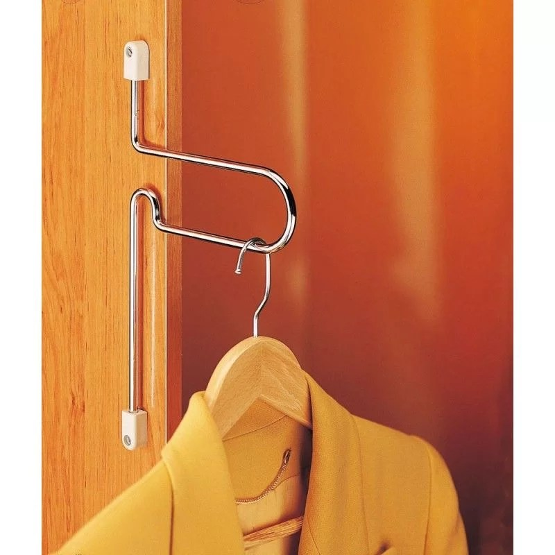 soporte colgador para organizar el armario