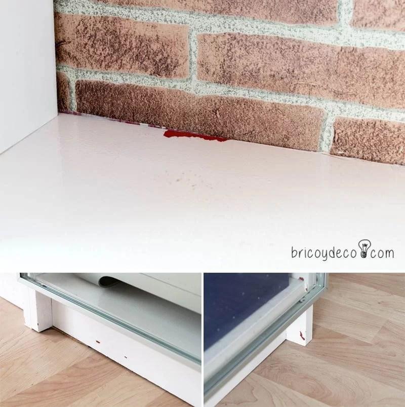 pintar muebles de melamina correctamente