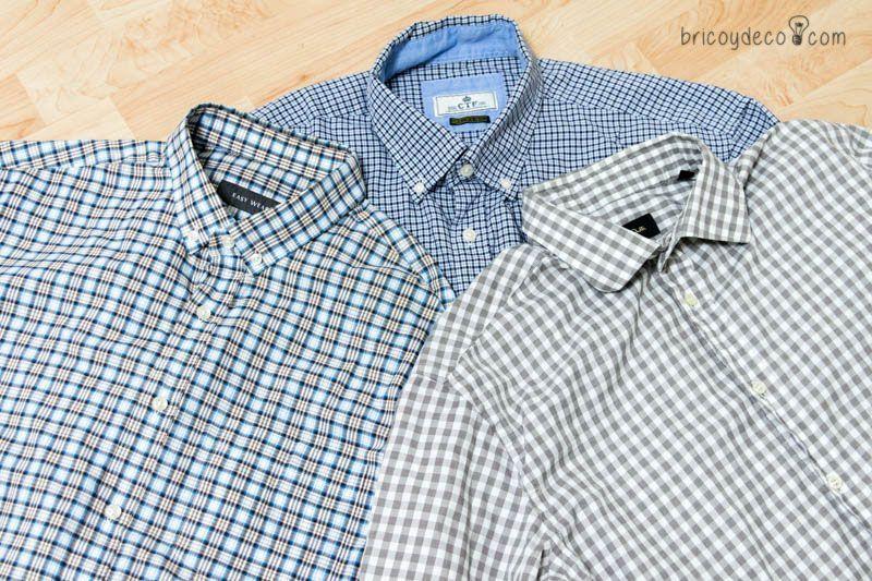 cómo reciclar camisas de hombre