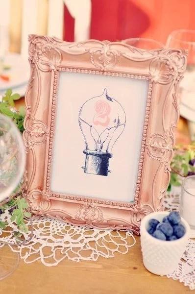 decorar fiestas DIY con cuadros
