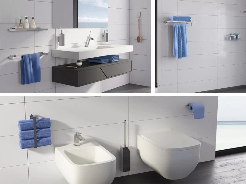cómo elegir accesorios para baño de diseño